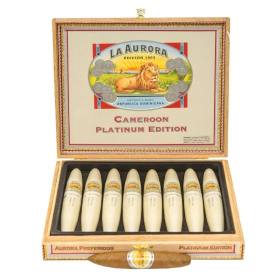 Trabucuri La Aurora 1903 Double Figurado Platinum Tubos (8)