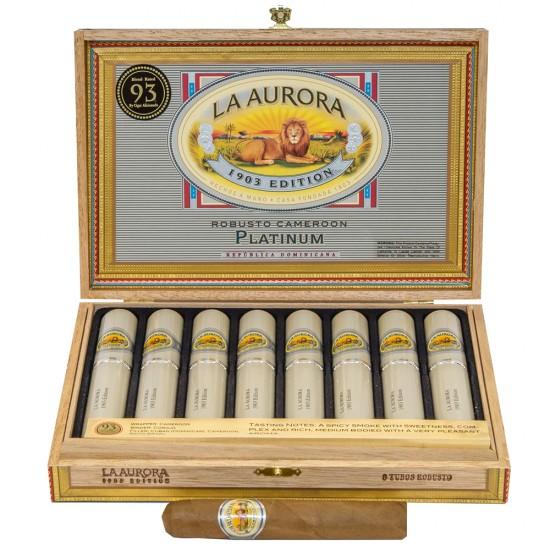 Trabucuri La Aurora 1903 Robusto Platinum (8)