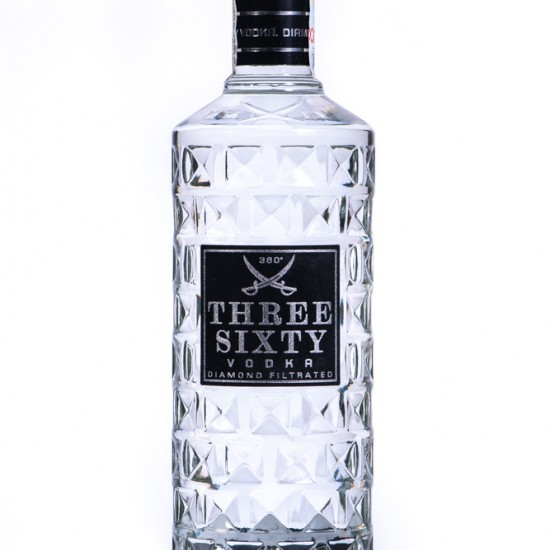 Vodka Three Sixty Original (0.5L, 37.5%)
