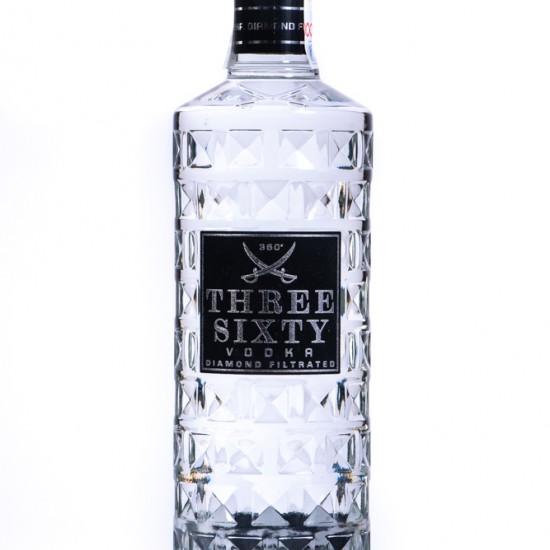 Vodka Three Sixty Original (0.7L, 37.5%)