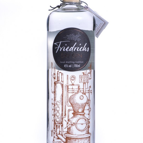 Friedrichs Dry Gin (0.7L, 45.0%)