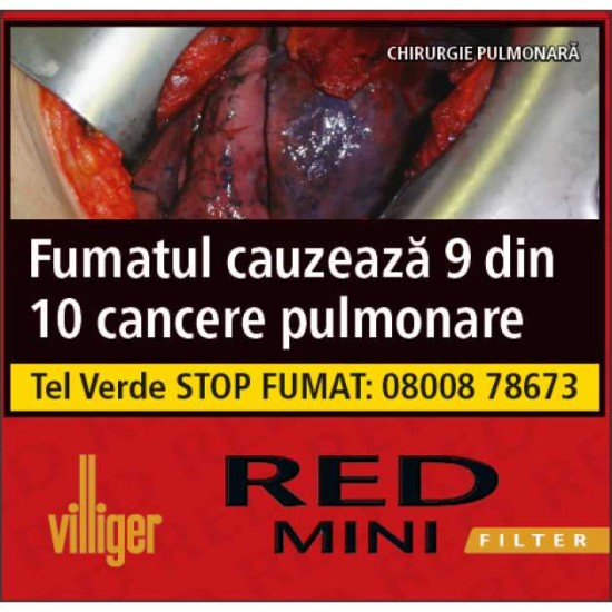 Tigari de Foi Villiger Red Mini Filter (10)