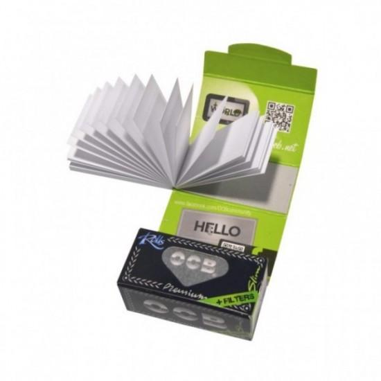 OCB Foita rola (4m) + Filtre Carton