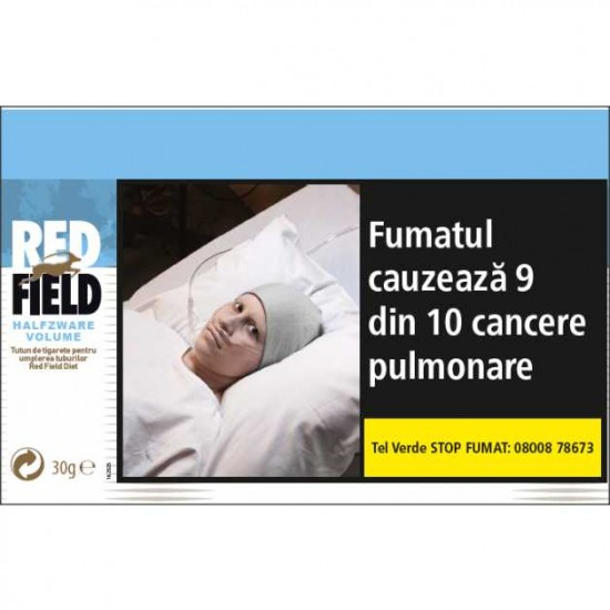 Tutun de rulat Red Field Halfzware Volume (30g)