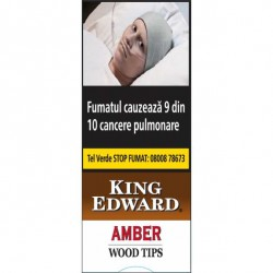 Tigari de Foi King Edward Wood Tips Amber (5)