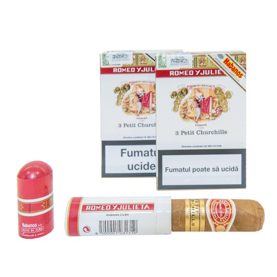 Trabucuri Romeo y Julieta Petit Churchills Tub (3)