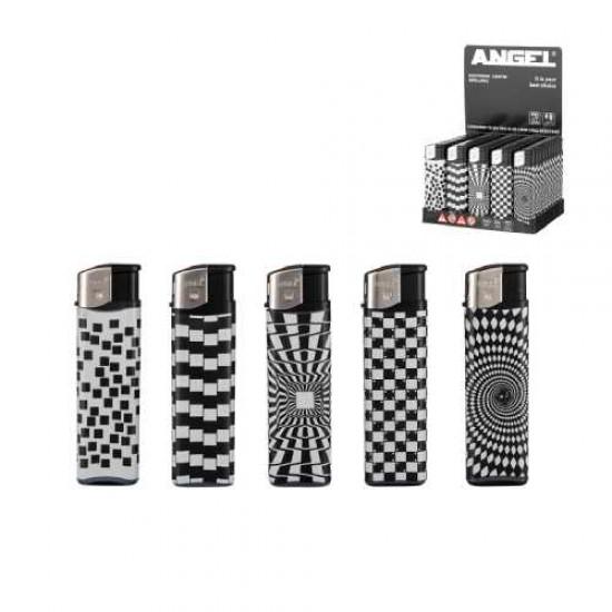 Bricheta Angel Lighter Black&White Design