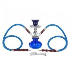 Dreamliner Shisha (blue) 2 hose 23cm
