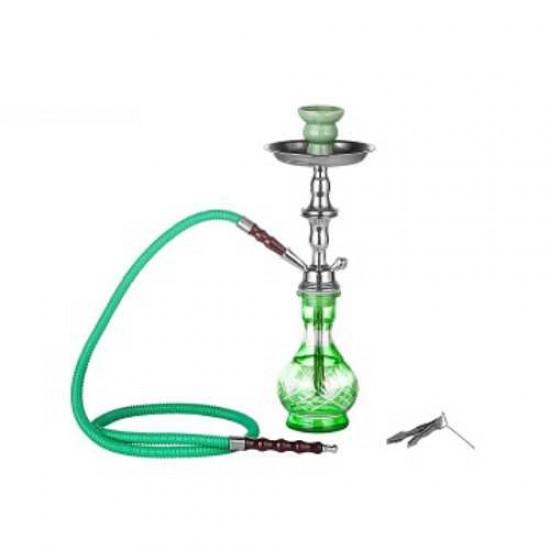 Dreamliner Shisha (green) 1 hose