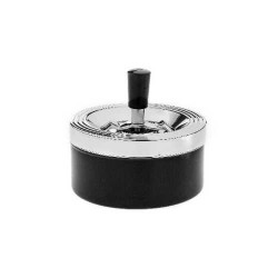 Scrumiera Angelo Ashtray Spin (black)