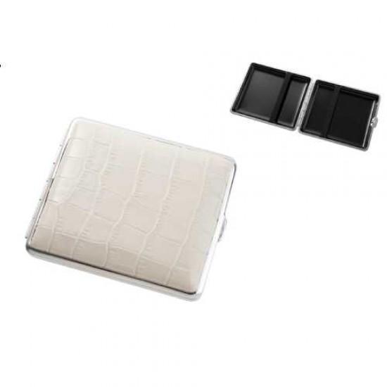 Cigarette Case (white leather)