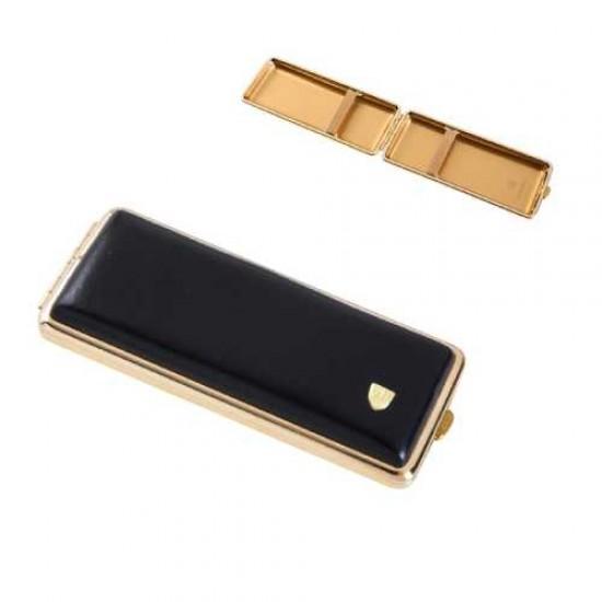 Tabachera Cigarette Case (negru/auriu)