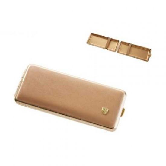 Tabachera Cigarette Case (roz/auriu)
