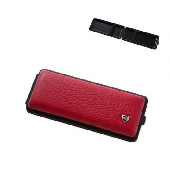 Tabachera Cigarette Case (rosu/negru)