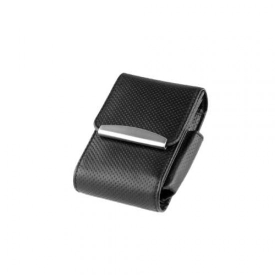 Angelo Cigarette Box Leather (black)