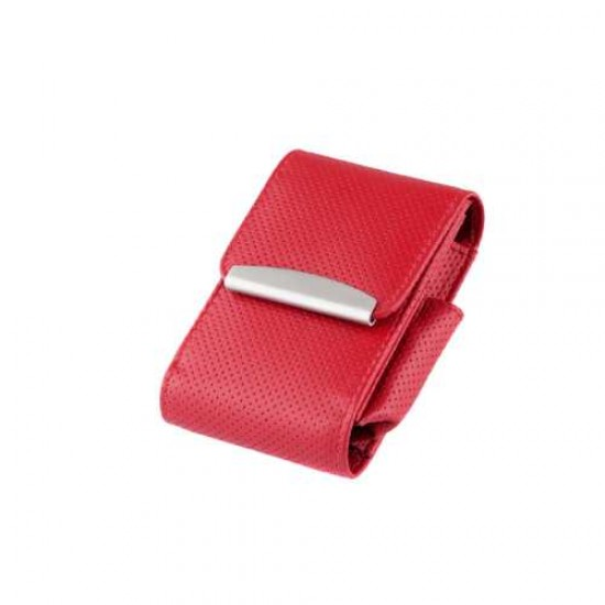 Angelo Cigarette Box Leather (red)