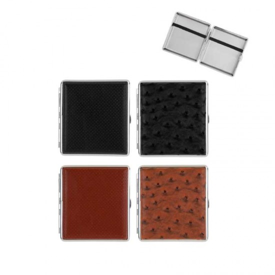Angelo Cigarette Case (set black/brown)