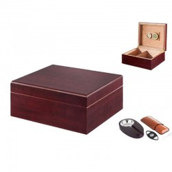 Angelo Humidor Set (cherry)