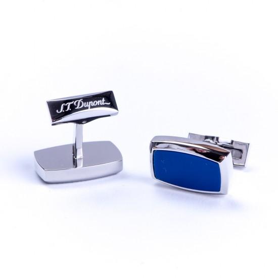 Butoni Etiquette Palladium Blue Lacquer 005511