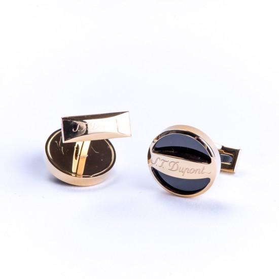 Butoni Round Gold Lacquer 005791