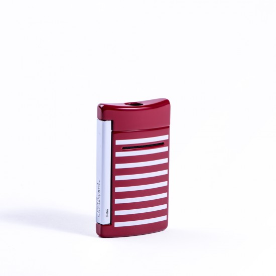 Bricheta S.T. Dupont Minijet Red White Stripes