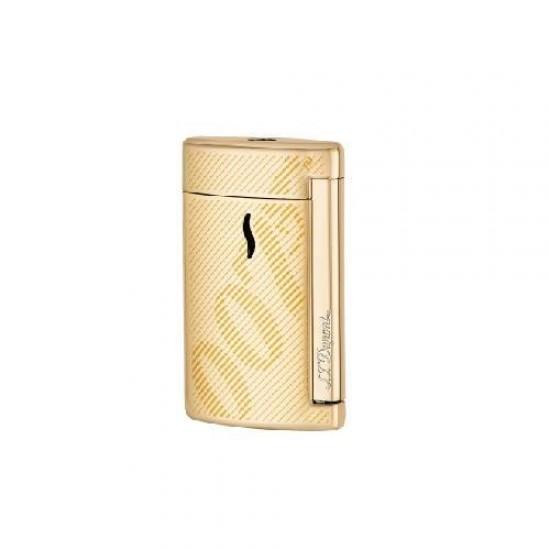 Bricheta S.T. Dupont Minijet Gold James Bond 007