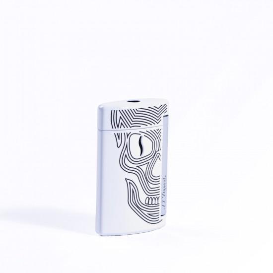 Bricheta S.T. Dupont Minijet White Skulls