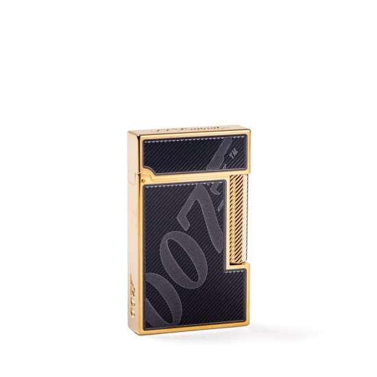 Bricheta S.T. Dupont L2 Black&Gold James Bond 007