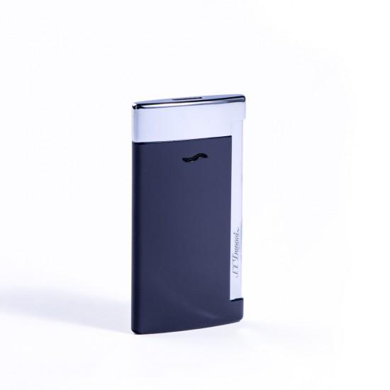 Bricheta S.T. Dupont Slim 7 Blue&Chrome