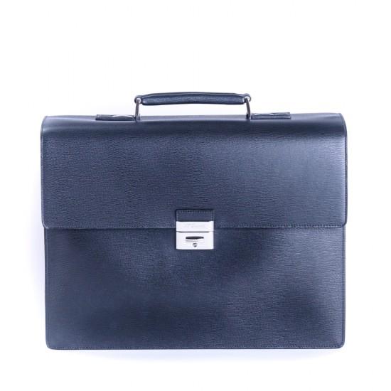 Geanta Briefcase Contraste Black