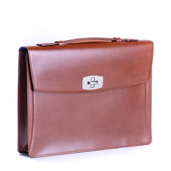 Geanta Briefcase Line D Black Turnstile 181100