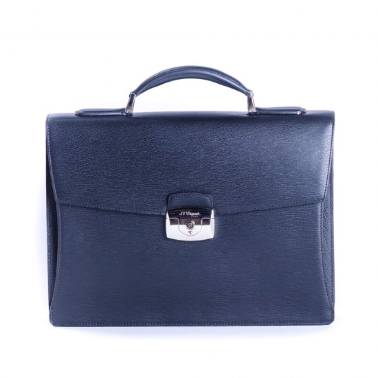 Geanta Briefcase Line D Black 1 Partition 181301