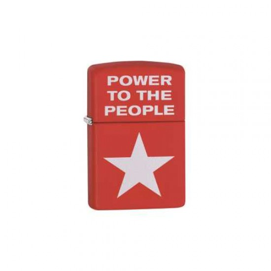 Bricheta Zippo Red Matte Power
