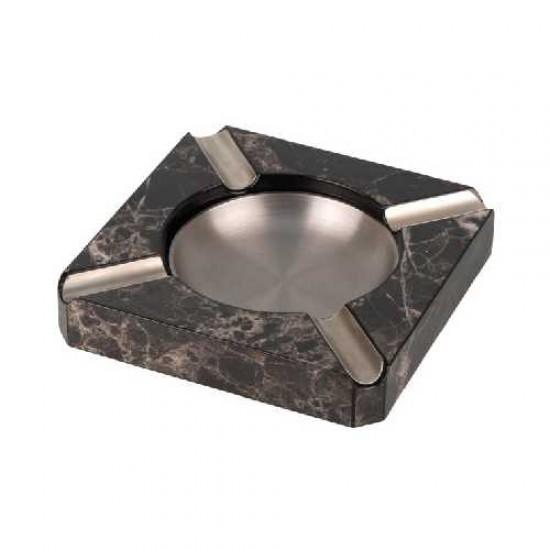 Scrumiera Cigar Ashtray Grey Marbled