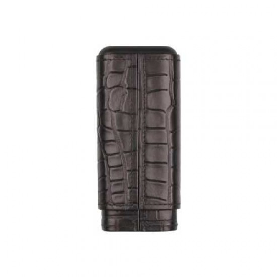 Etui Piele Crocodile Design 3CT Black
