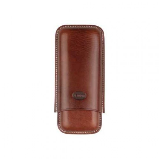 Etui Piele Crocodile Design 2CT Brown
