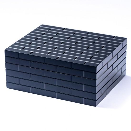 Humidor Trabucuri Black Wall - 30 Trabucuri