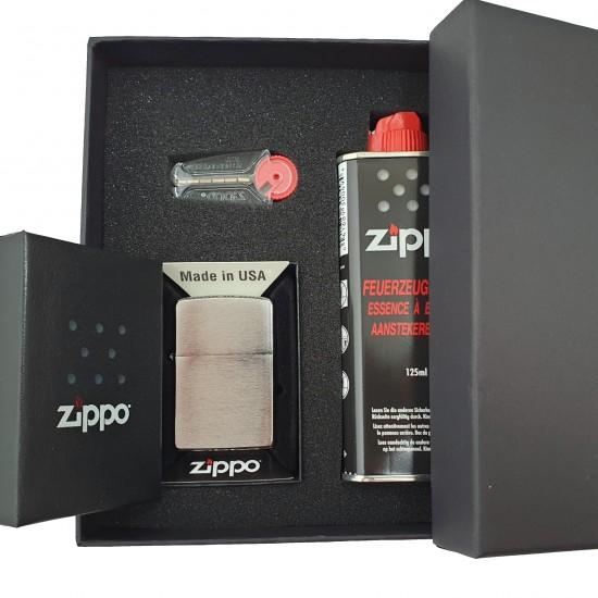 Zippo Chrome Set - Set Cadou Zippo