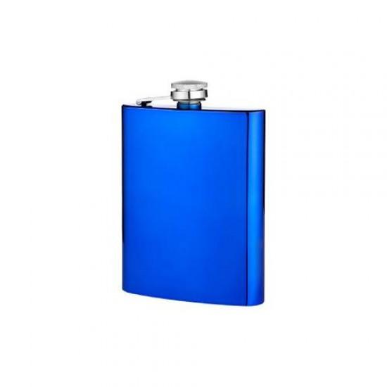 Angelo Flask Blue 8oz