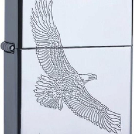 Bricheta Zippo Chrome Eagle
