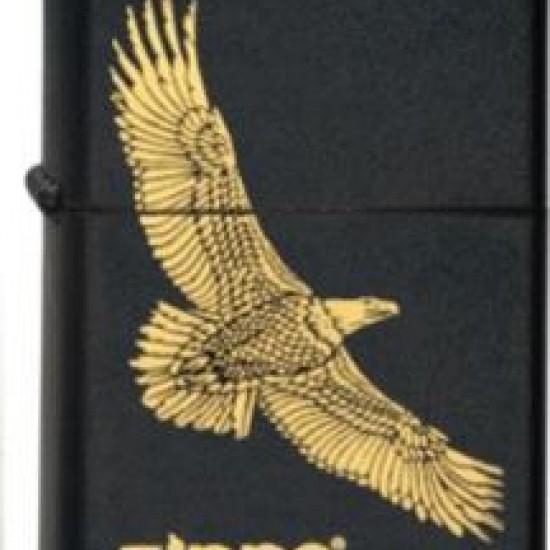 Bricheta Zippo Black Eagle