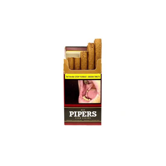 Tigari de foi Pipers Club Red (10)