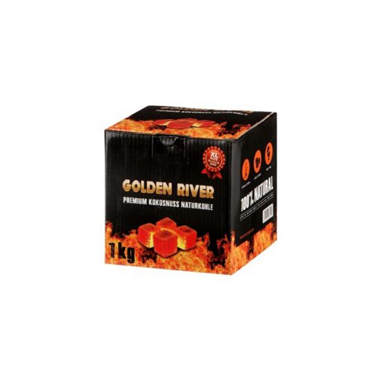 Carbune Narghilea Golden River Premium 1 kg