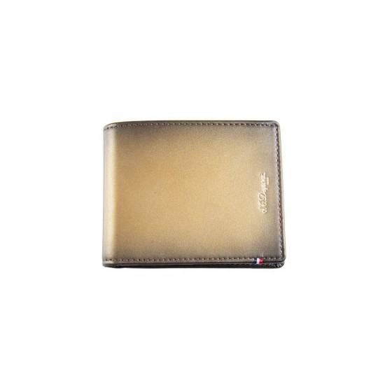 Portofel Line D Atelier Sunburst Bronze 6CC S.T. Dupont